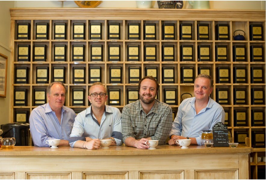 Left to right: Michael Harney, Emeric Harney, Alexander Harney, and Paul Harney  Photo   compliments of Harney & Sons