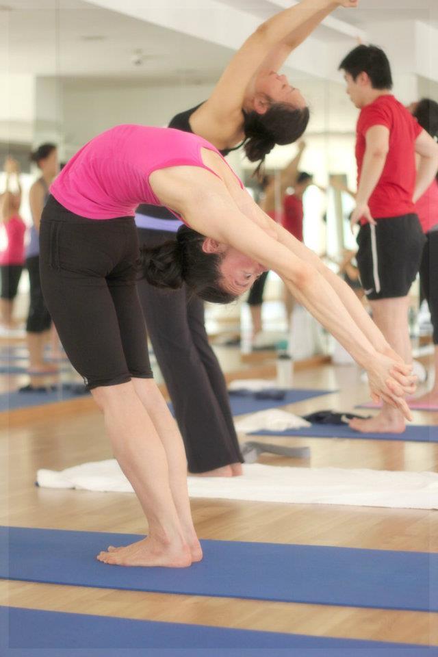 Yoga practice Singapore