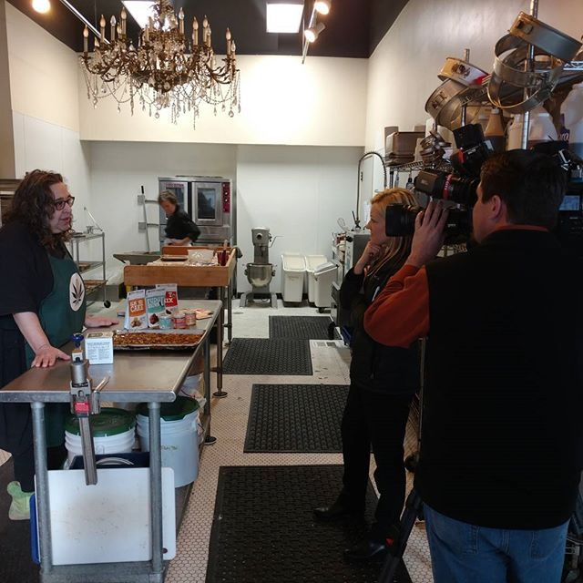 Watch for Laurie & MaryJane on the 5 o'clock news! #portland #edibles #marijuana