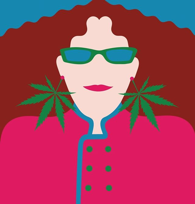 """""""The Martha Stewart of Marijuana Edibles""""  2 years ago, The New Yorker published a brilliant profile on our founder, Laurie Wolf.  If you haven't read it, today is the perfect day to check it out (link in bio). Happy #420!  Article by Lizzie Widdicome, Illustration by @olimpiazagnoli @newyorkermag  . . #cannabis #marijuana #cannabiscommunity #maryjane #highsociety #medicalmarijuana #dontfeartheedible"""