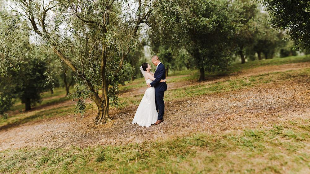 Brenizer method of Wedding Couple New Zealand.jpg