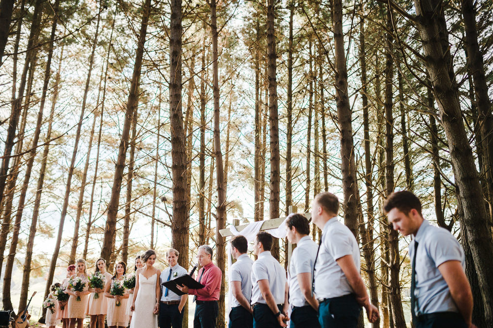 Auckland wedding ceremony in forest.jpg