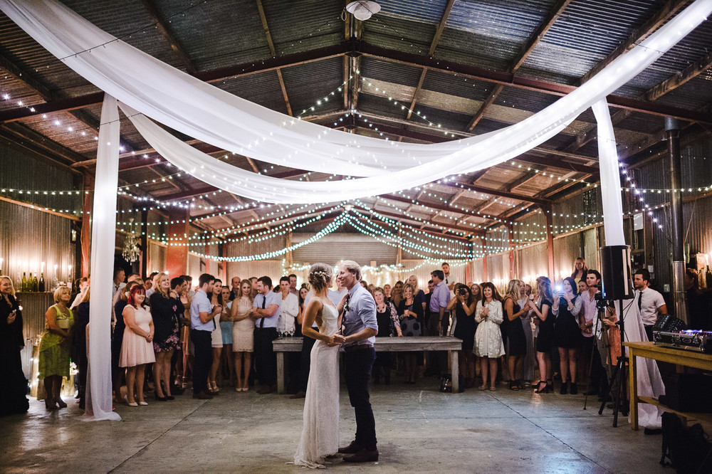 First Dance Auckland Wedding In Barn