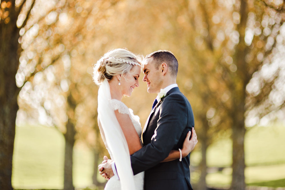 14 Autumn Leaves Bokeh portrait wedding couple 85mm.JPG