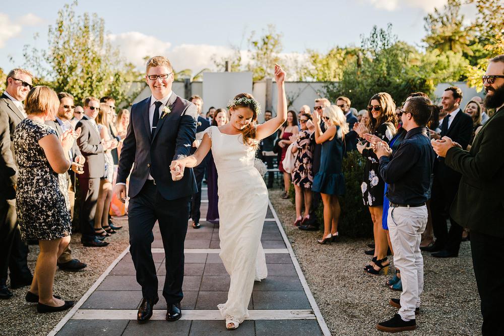 43 bride dancing down aisle tauranga.JPG