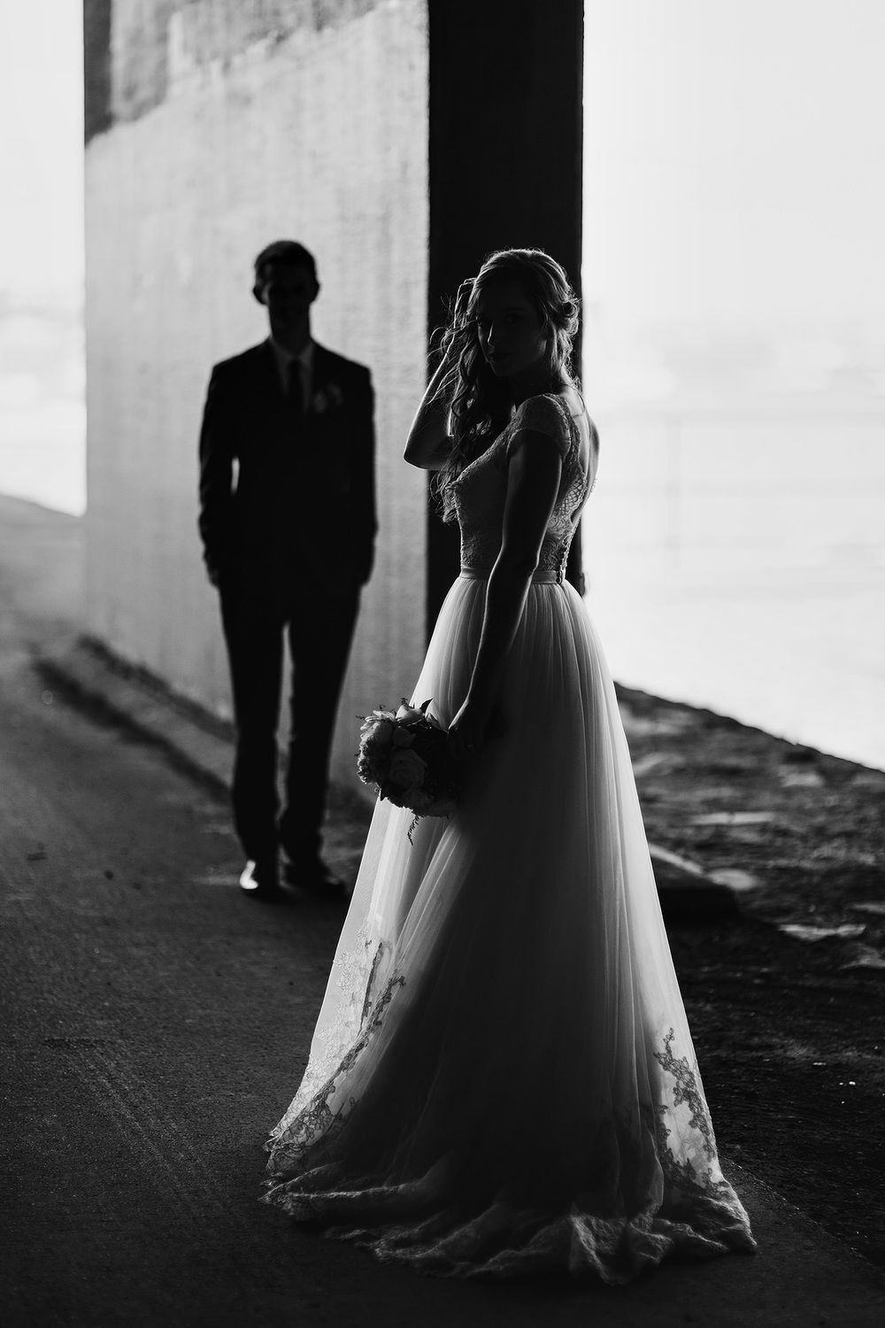 52 black and white moody portrait auckland wedding fashion.JPG