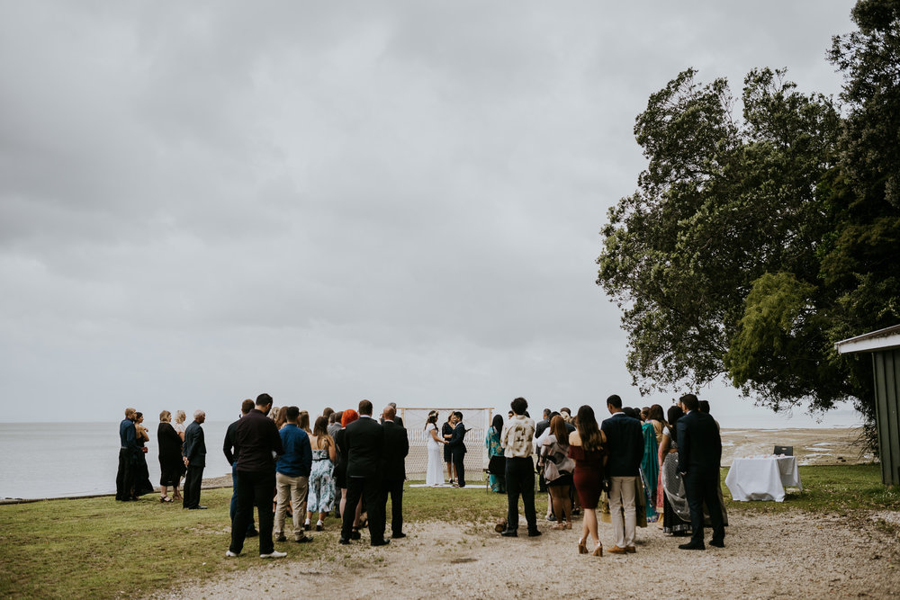 French Bay Yacht Club Auckland Wedding Ceremony Loction