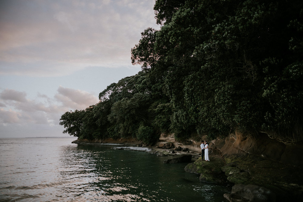 Titirangi Wedding Photography Sunset