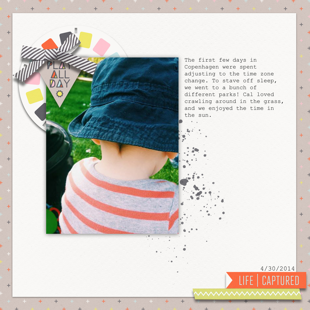 Play All Day by SparklingAllison | Supplies: Hopscotch by One Little Bird