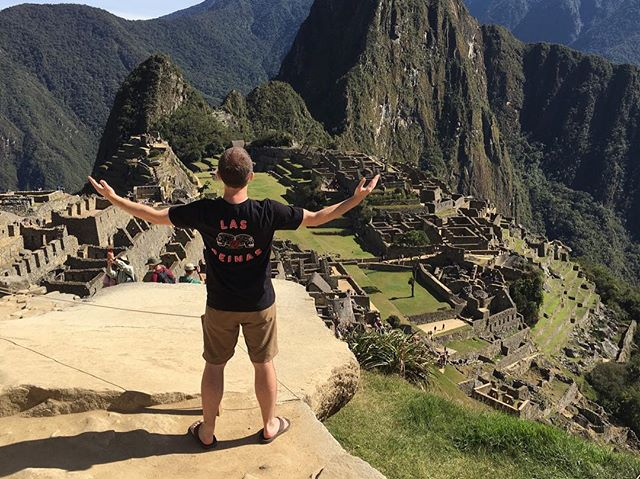 Las Reinas being representing all the way from Machu Picchu! Gotta love our regulars. Thanks Bogo! #reboated