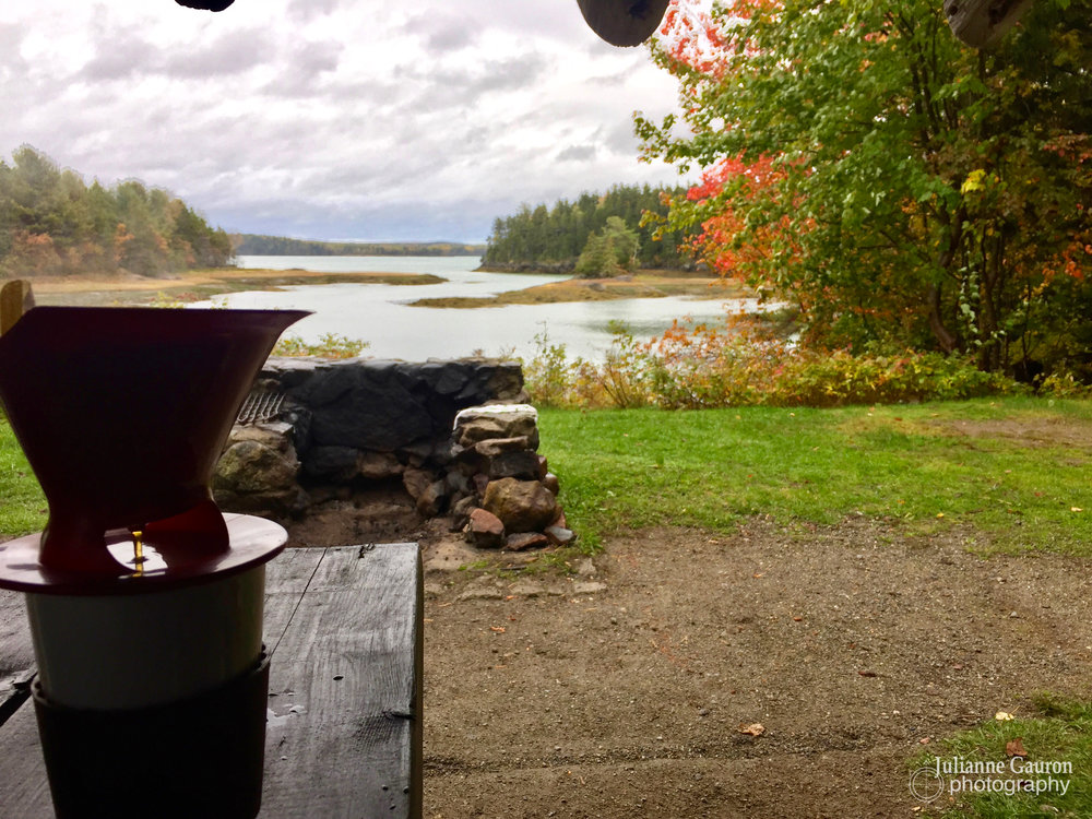Best morning view for a cup of coffee.  Ever.