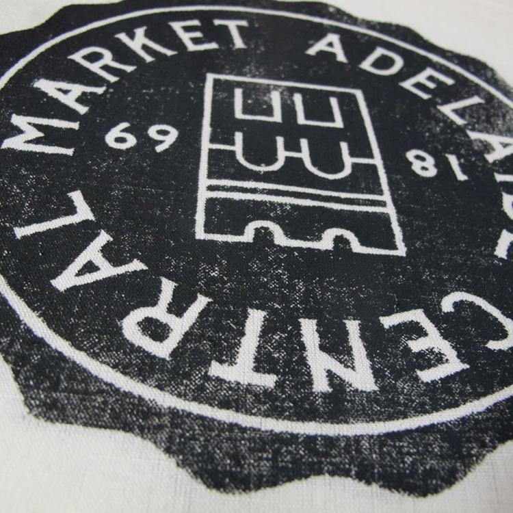 Adelaide Central Markets tea towel