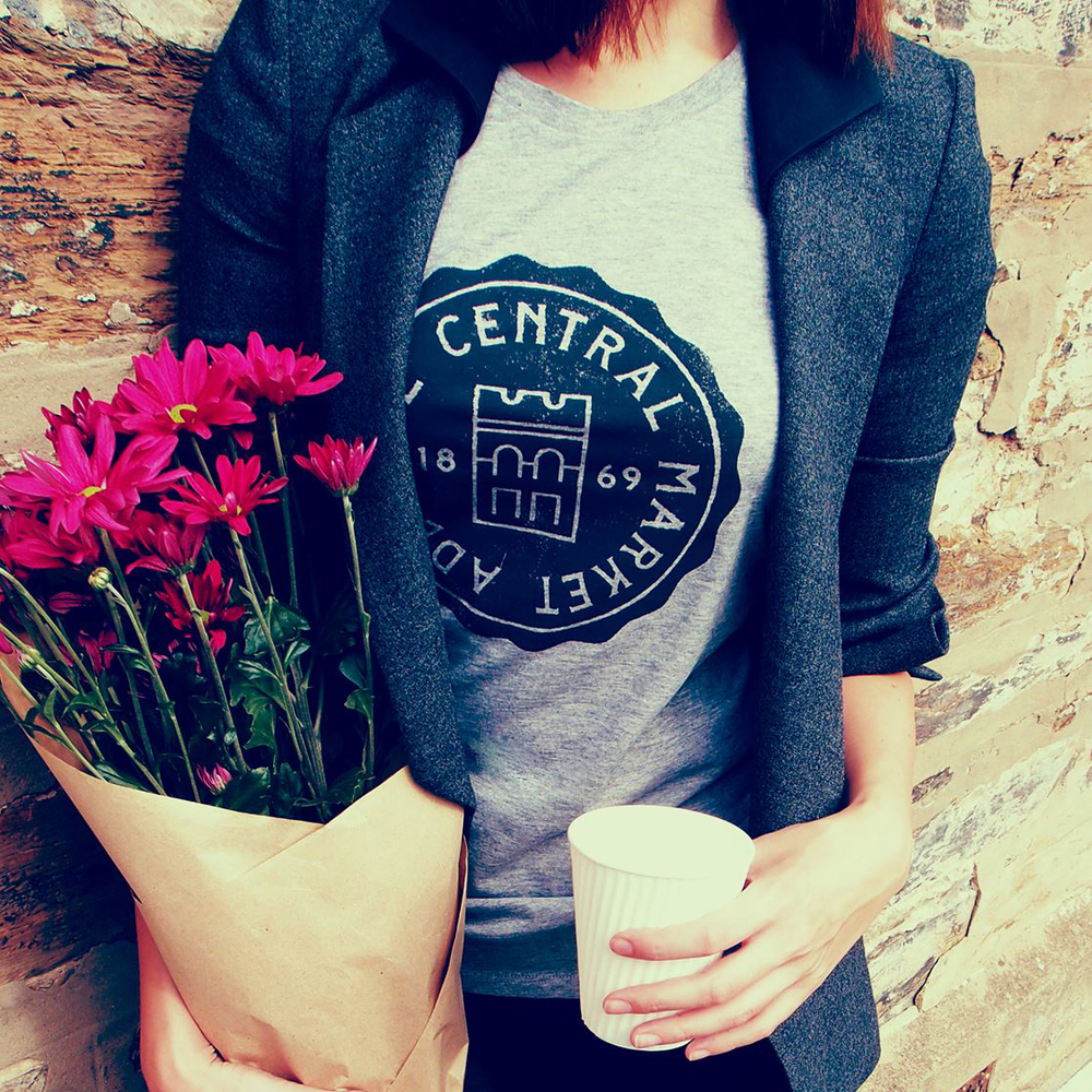 Adelaide Central Markets tee