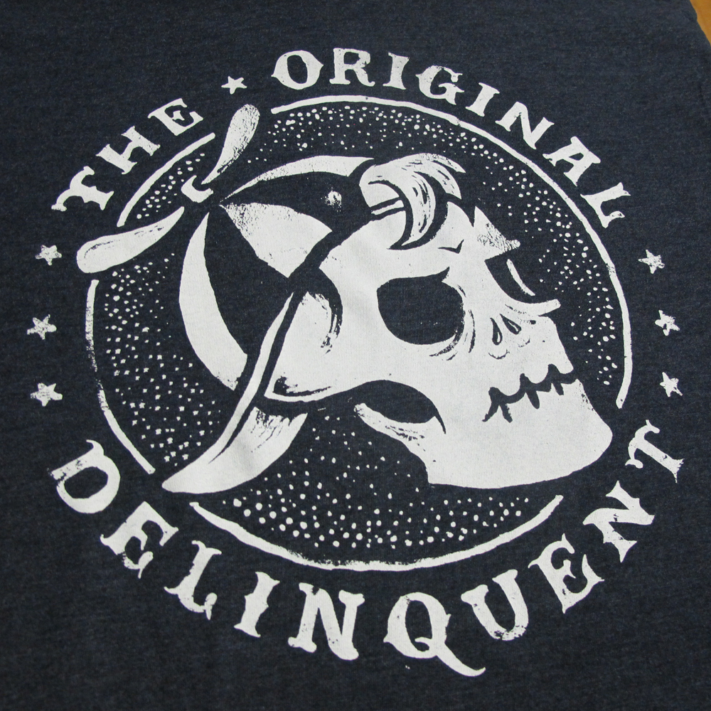 Delinquente Wine Co. x Ankles tee back print