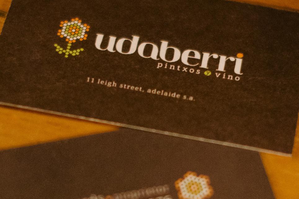 Udaberri logo / bcards
