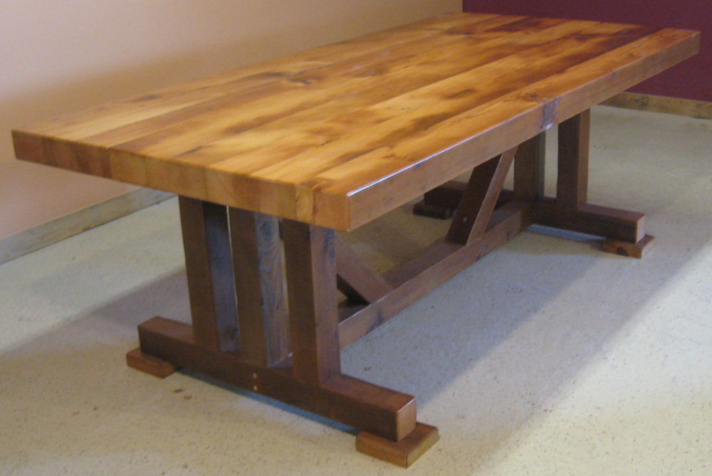 Rustic restaurant tables rustic restaurant furniture for Reclaimed wood bend oregon