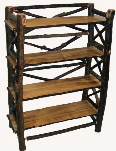 Hickory Log Bookcase.jpg
