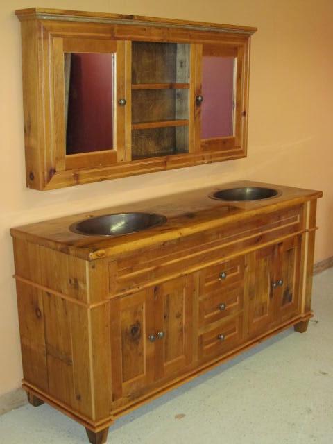 Popular Double Sink Bathroom Vanity For HotelRestaurantApartment View