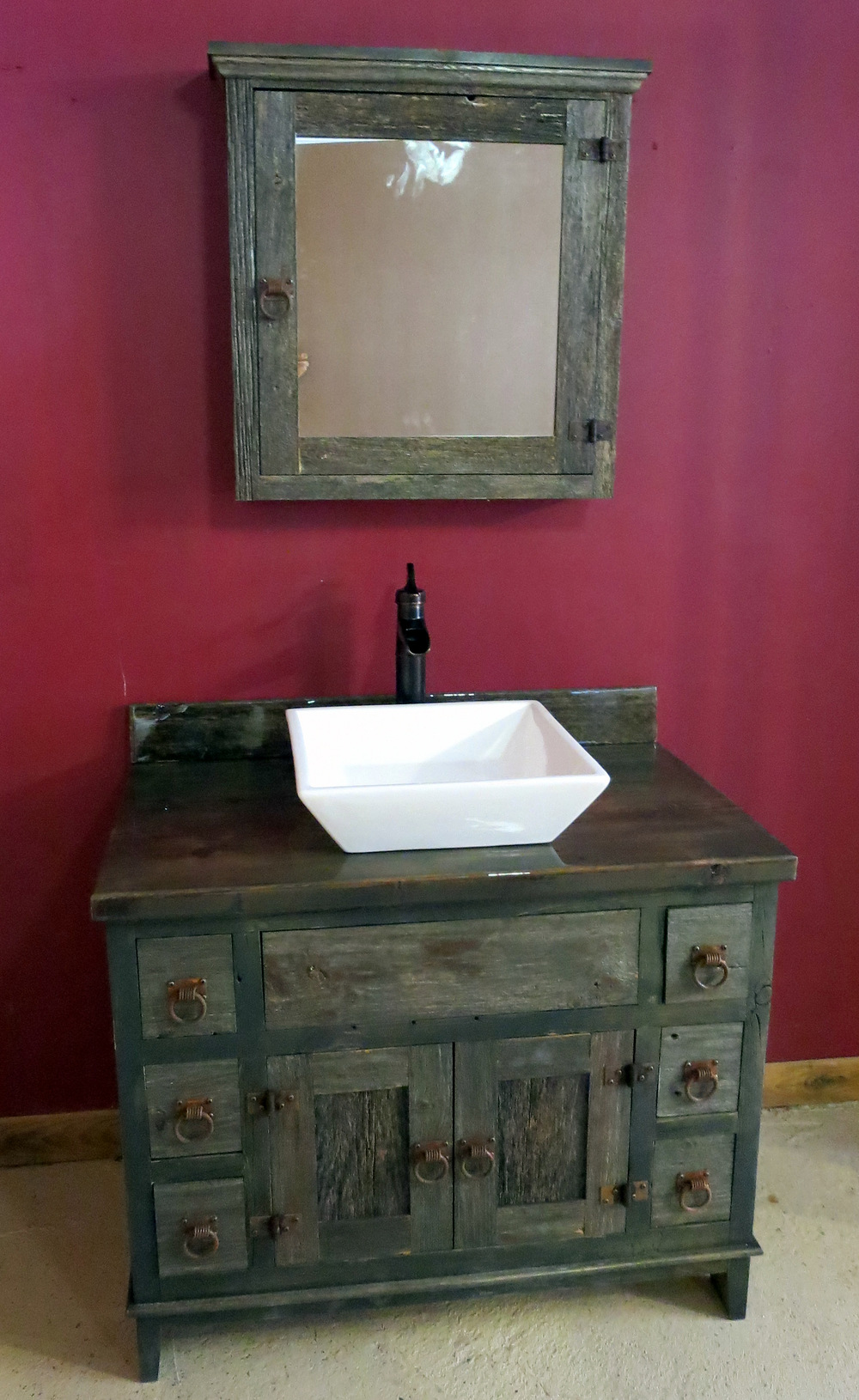 Lastest Rustic Bathroom Cabinets Including Rustic Medicine Cabinets And Rustic