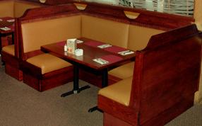 Rustic-Restaurant-Booths — Rustic Restaurant Furniture and Rustic ...