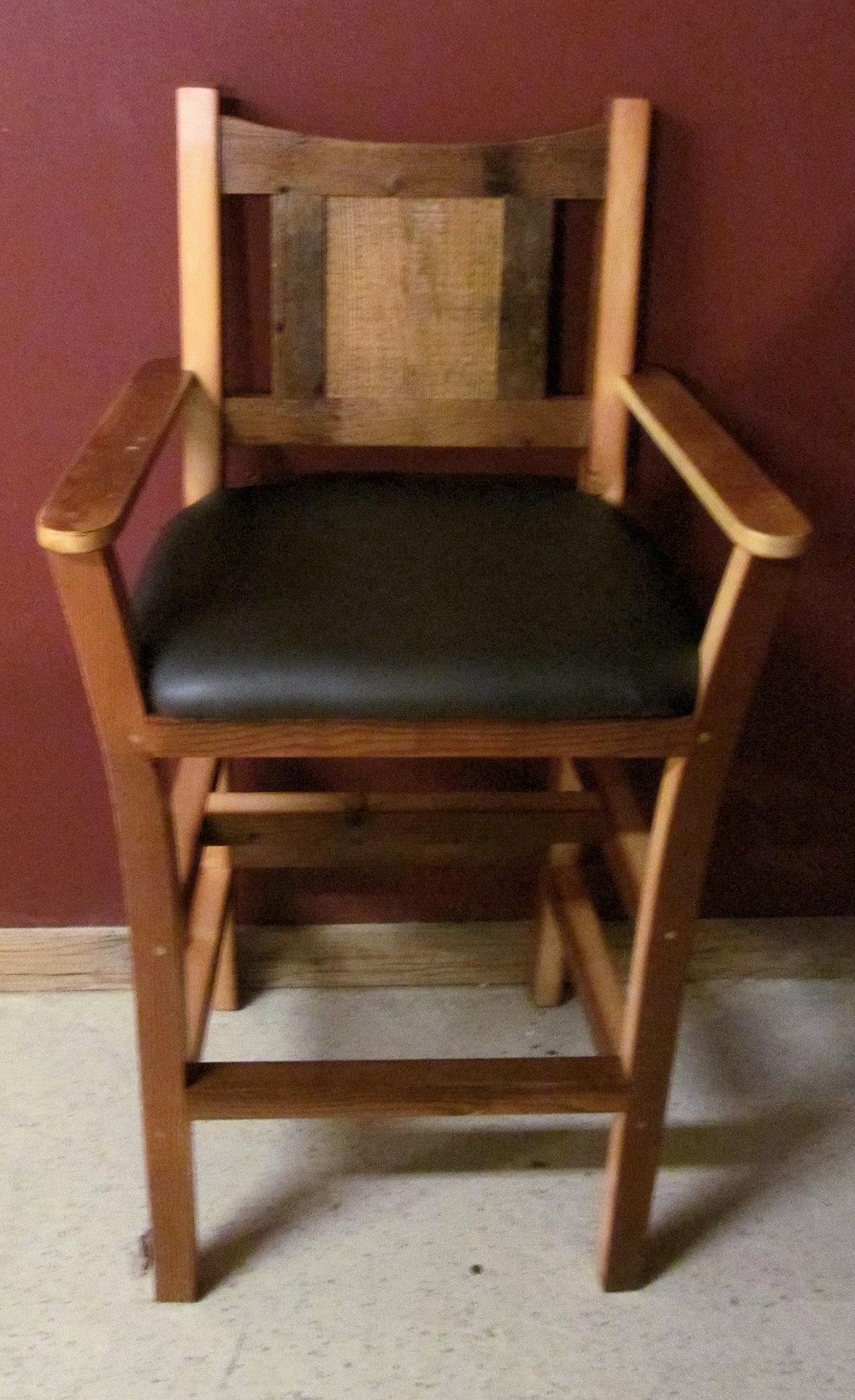rusticraft barnwood barstool 2.jpg