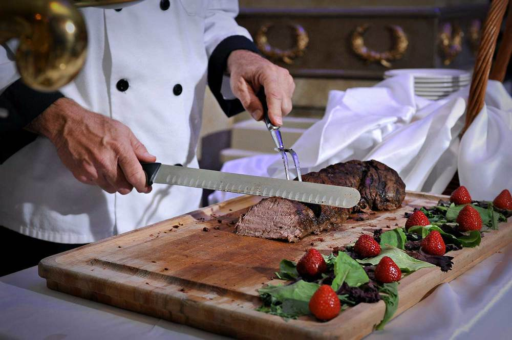 Filet Mignon Carving Station
