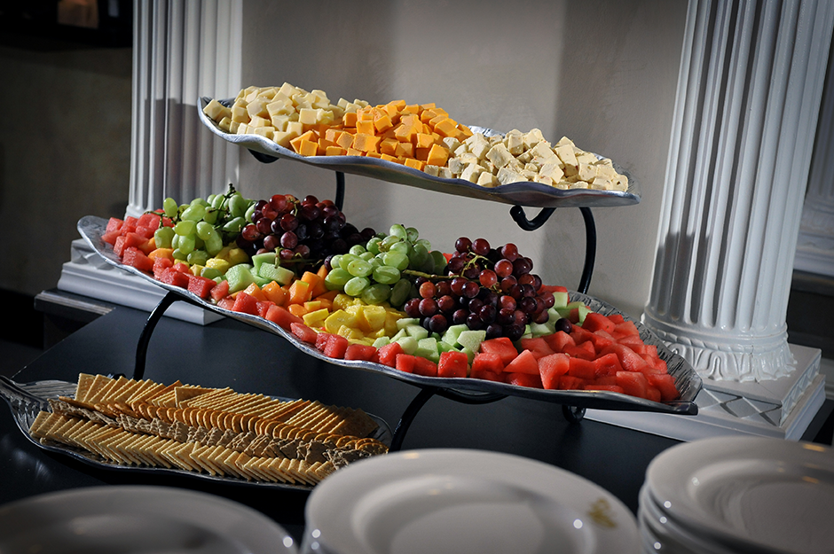Fruit & Chesse Display