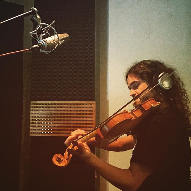 Layers Of Strings #zachashtons #music #recording #violin #stringsection #roma #shootingstars #somethingsoon #recordingsession