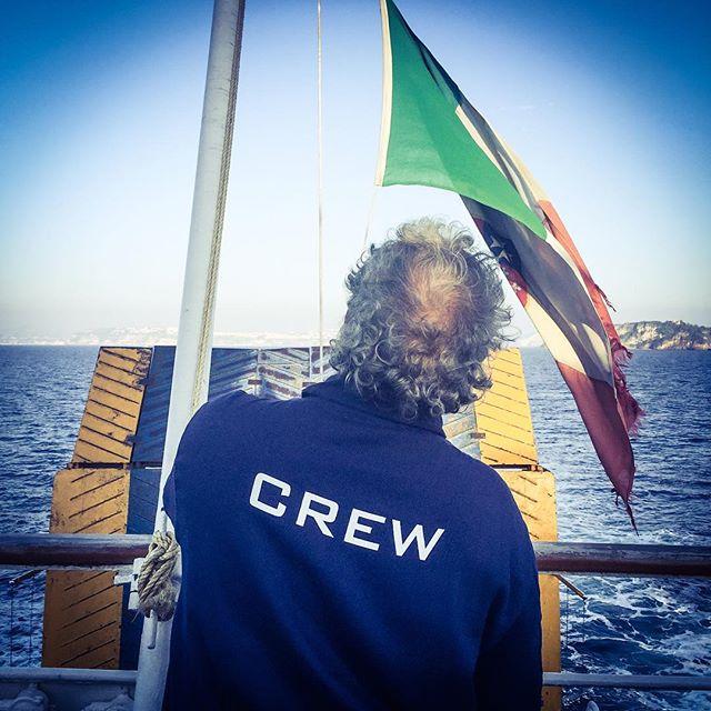 Boating II #ischia #naples #napoli #ships #merchantmarine #crew #flags #maritime #manadrift