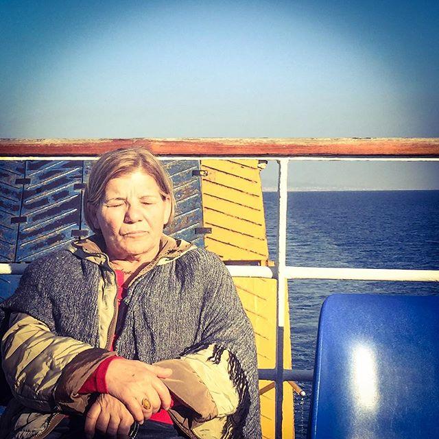 Sunbathing in Napoli #naples #napoli #italia #italy #manadrift #profiles #portraits #ships