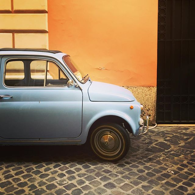 Fix It Again Tony #rome #roma #classiccars #fiat #italy #manadrift