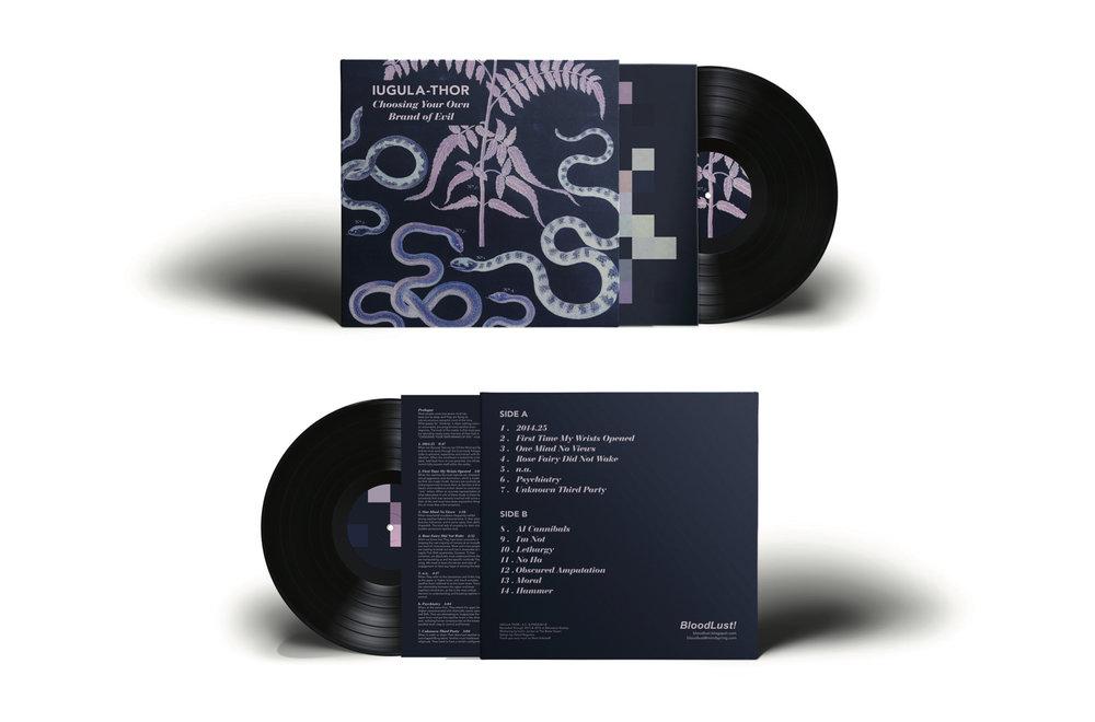 Freelance Work -BloodLust! Album Design