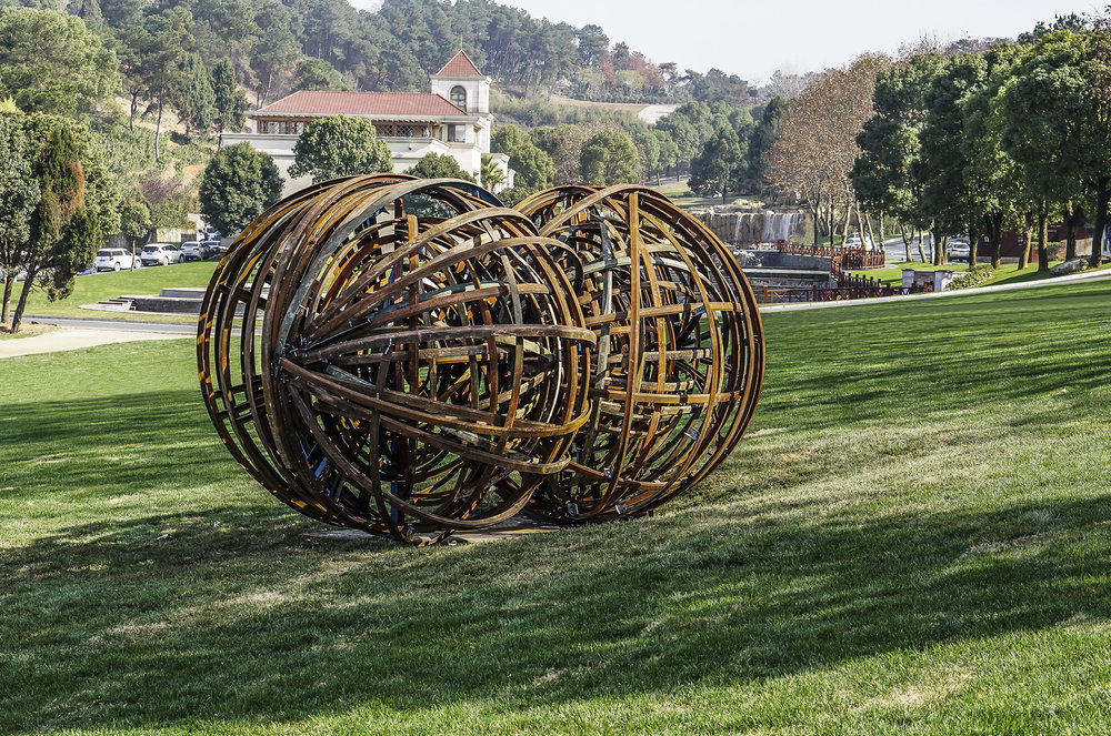 Back of Connected Scupture by Alan Chin.JPG