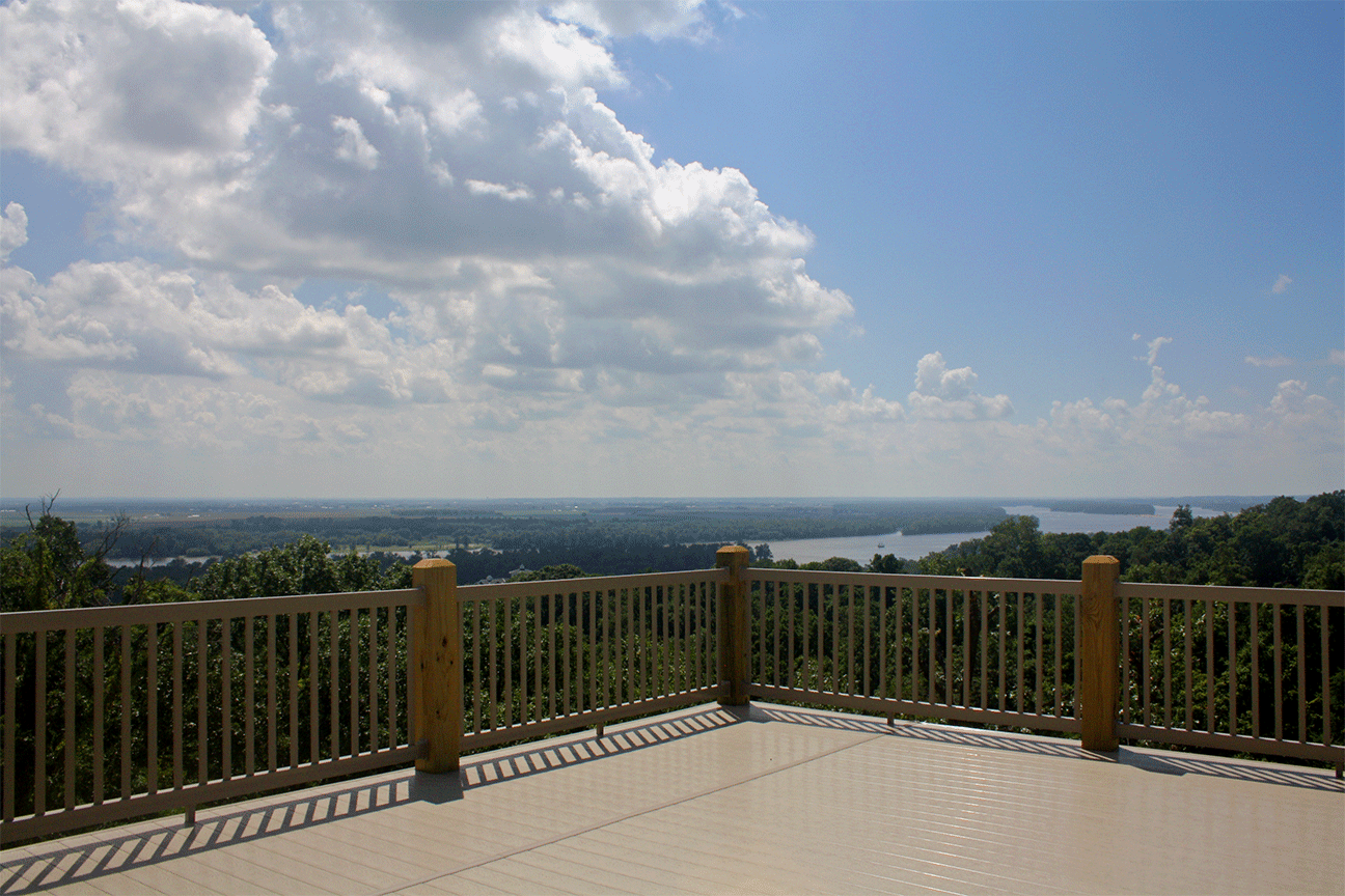View of the Confluence from the Terrace front deck