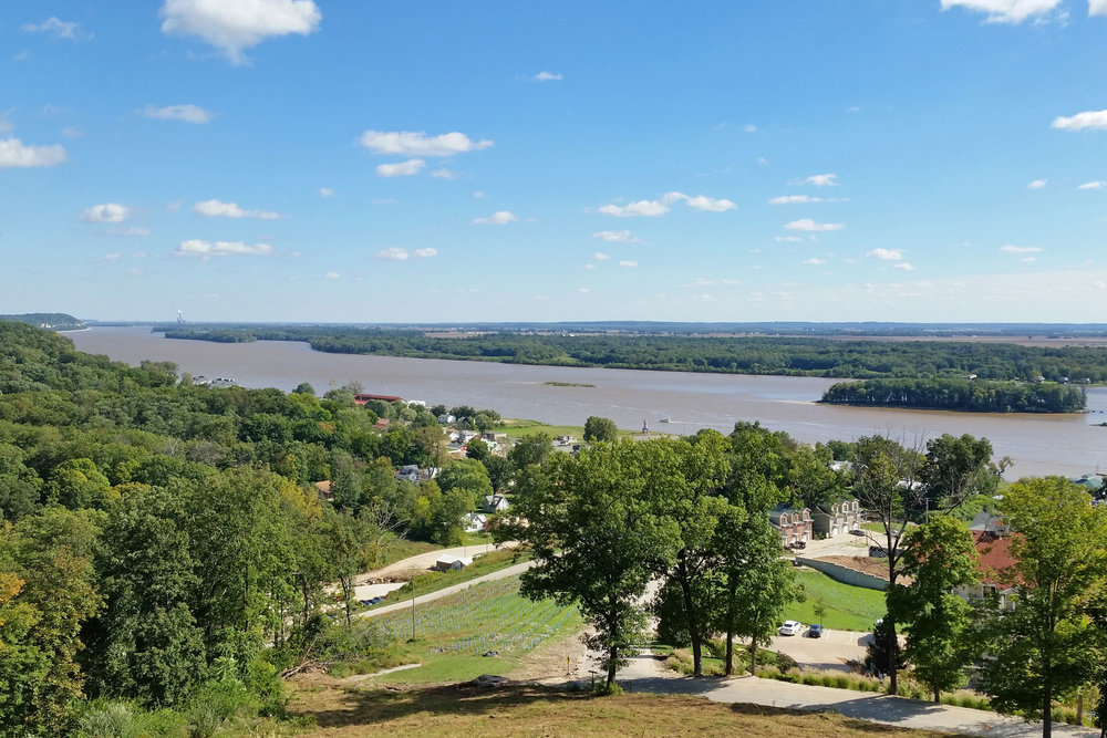 A spectacular view of the confluence from our new banquet center.