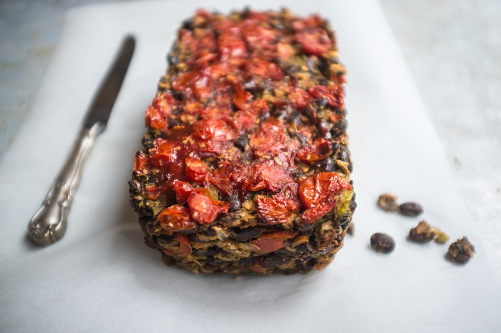 Black Bean Veggie Loaf
