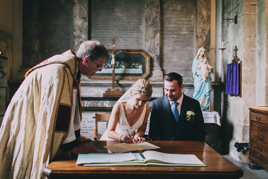 wedding register margam abbey