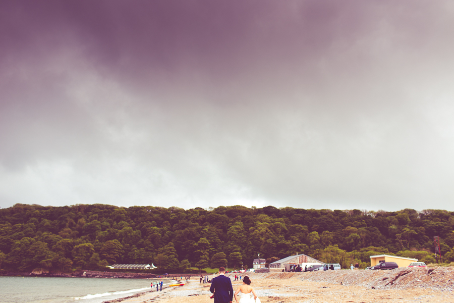 oxwich beach wedding