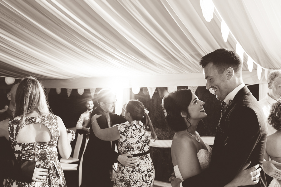 first dance at oxwich bay hotel