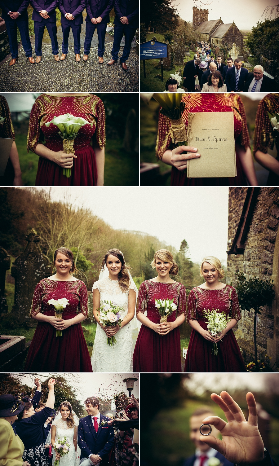 natural wedding photography wales