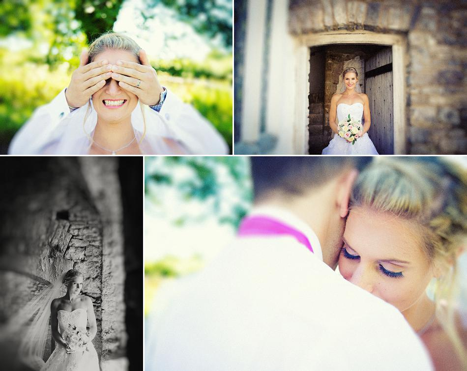 wedding photos at oxwich castle