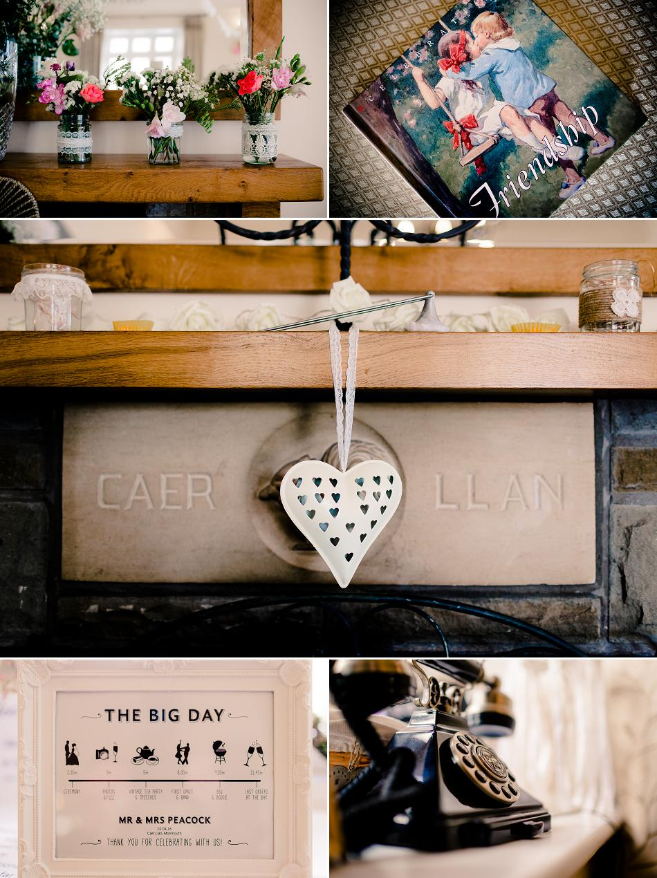 Caer Llan Wedding Photographer