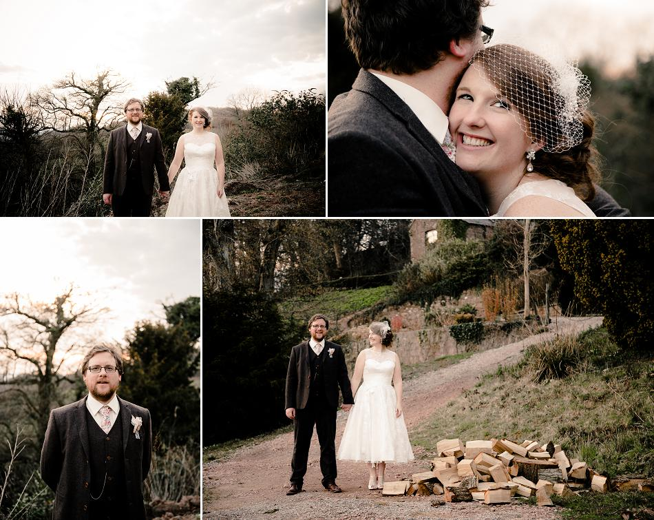 Caer Llan wedding photos