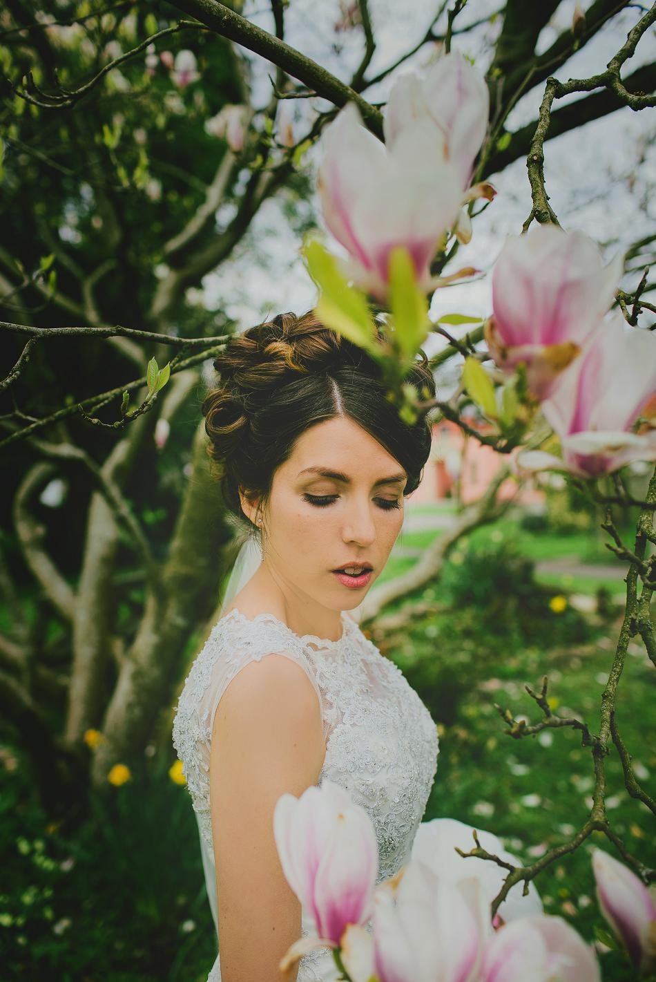 bride in physic garden