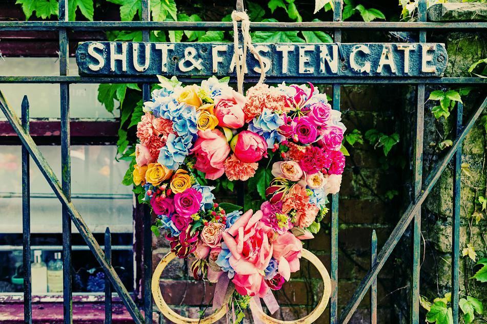 Asian wedding wreath