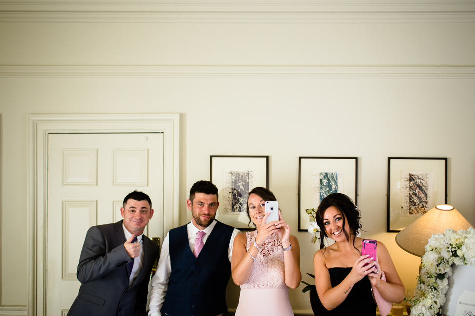 quirky wedding guests