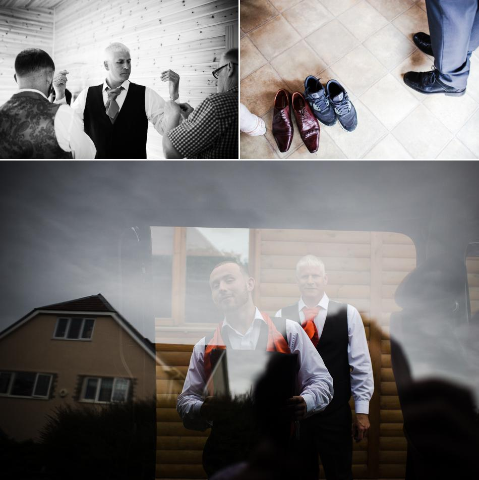 grooms preparations