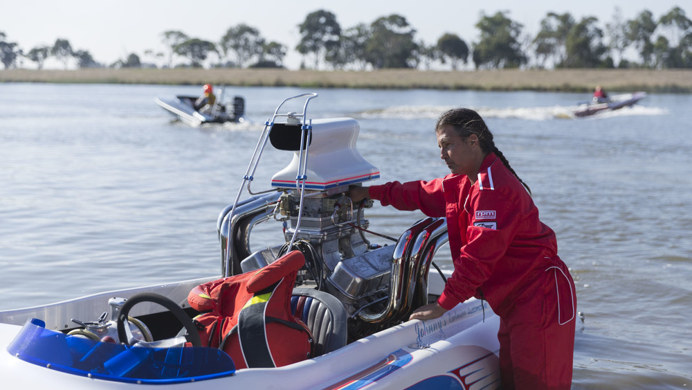 Drag Boats: Carrum: National Water Sports Centre; Nicky Ellis tuning Insaniac