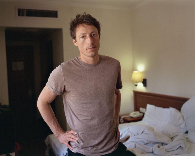 Arnaud, Eldan hotel room Jerusalem2011
