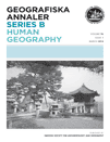 Geografiska Annaler Series B: Human Geography